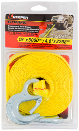 02815 TOW STRAP 15FT 5000#