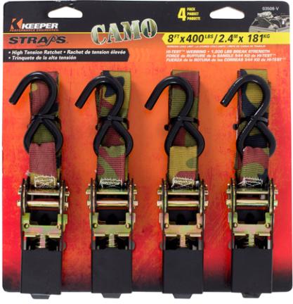 03508-v Tie Down 1200# Camo Ratchet
