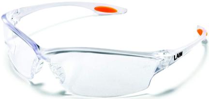 LW210 GLASSES SAFETY CREWS LAW CL FRAME CL LE
