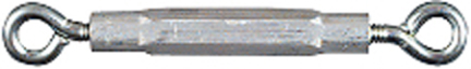 221721 Turnbuckle  3/16x5-1/2 Zinc Eye W/ey