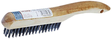 11395/1640 BRUSH 4X16 ROW SHOE HANDLE WIRE