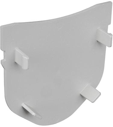 FSDP-EC 4  END CAP GRAY  STORM DRAIN CAP