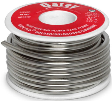 29024 SOLDER 1/2LB SAFE FLO SILVER LF SOLID WIRE