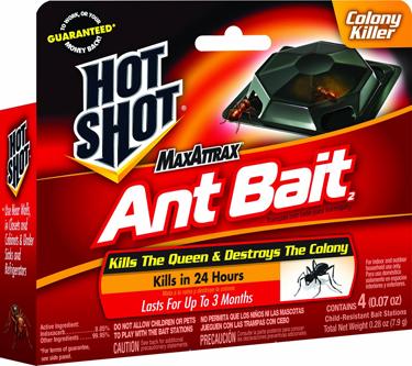 HG2040W HOT SHOT MAX  ATTRAX  ANT BAIT 4PK
