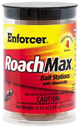 ERMBS4 ROACHMAX BAIT STATIONS 4/PK