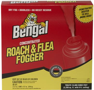 55201 FOGGER ROACH   FLEA 3PK