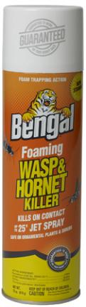 97121 SPRAY 18OZ BENGAL FOAM WASP