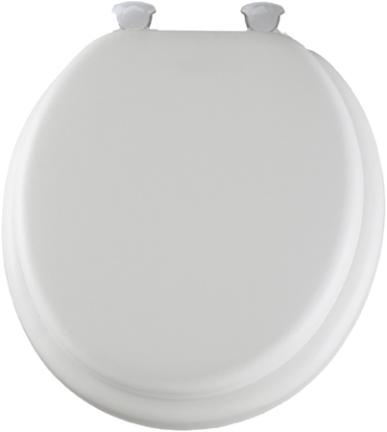 13 000 DEL RND SOFT-WHITETOILET SEAT