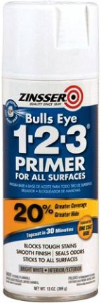2008 BULLS EYE 1-2-3 SPRAY PRIMER