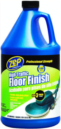 ZUHTFF128 HIGH TRAFFIC FLOOR FINISH GAL ZEP