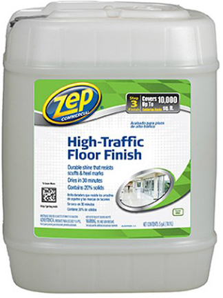 ZUHTFF5G FINISH 5 GAL FLOOR HIGH TRAFFIC