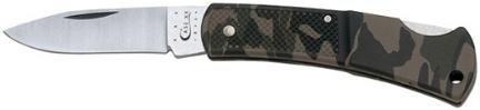 00662 Knife Small Camo Lockback