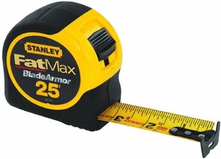 33-725 Tape 1-1/4x25 Fatmax