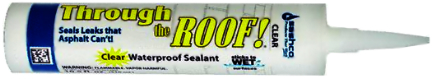 14010 SEALANT 10.5OZ CLEAR THROUGH THE ROOF