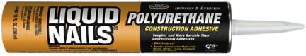 LN-950 LIQUID NAILS 10OZ POLY CONSTRUCTION