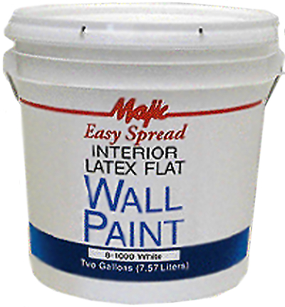8 1000 Paint 5gal White Ez Spread Int Flat Latex