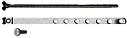 Pp820-73 Pop Up Center Rod Assembly
