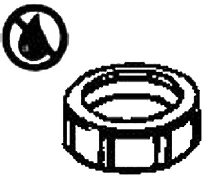 955WRUK NUT 1-1/2X1-1/2 SJ