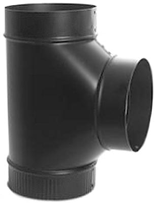 5-604 5  24GA BLACK TEE