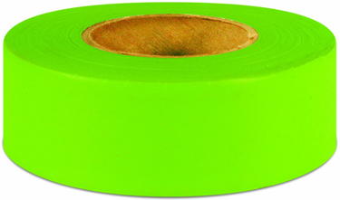 6883 TAPE 1.187X50YD LIME GLO FLAG