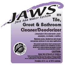 3410 JAWS BOTTLE PURPLE USES SPRAYER(EDP 324914)
