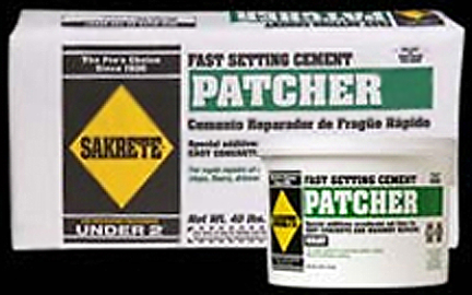403.40.SK CEMENT 40#FASTSET PATCHER