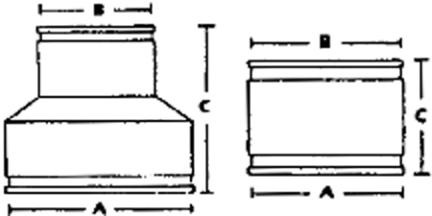 PCX56-125 COUPLING 1-1/4