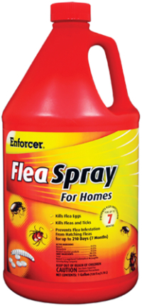 EFSH128 FLEA SPRAY GAL FOR HOMES W/FGR RTU