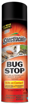 HG96235 BUG STOP FLY AND  CRAWL INSECT SPRAY 16OZ
