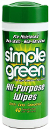 3810001213312 SIMPLE GREEN  TOWELETTES