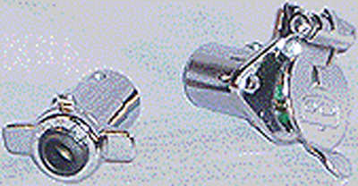 Rv-528c Car Trailer Chrome Connector 1pr/cd