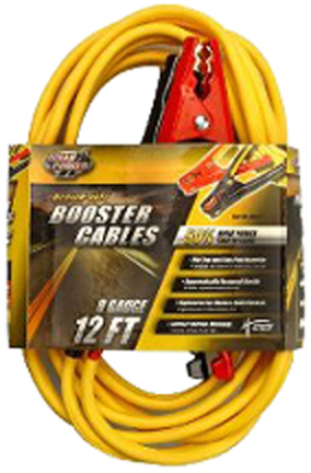 84718802  BOOSTER CABLE 12 FT 8GA