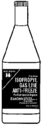 701169(802105) Gas Line Antifreeze Iso 12oz