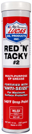 10005 Red N Tacky Grease  14oz