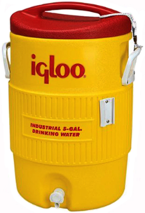 451 Water Cooler Plastic 5gal Yellow