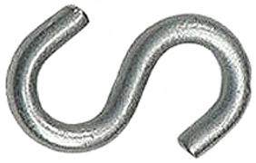 273425 Hook 2in Zinc  Hvy Open S