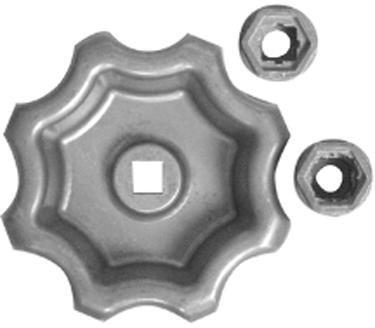 10006 Handle Outdoor Faucet Universal