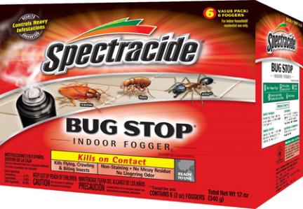 HG67759 BUG STOP INDOOR  FOGGER 6PK 2OZ