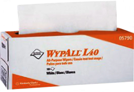 05790 WHT L40 WYPALL WIPERS 100/BX 9BX/CT