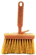 11940 (4643) 4-1/2 TAMPICO COATER BRUSH