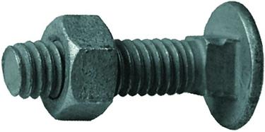 328502c Carriage Bolt W/ Nut 5/16 X1-1/4  20pk