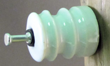 25-Pk. Dare Products 16D-25 Porcelain Insulator