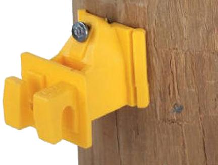 1728-25 Wood Post Insulator 25/pk