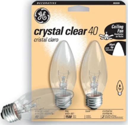 12993 40W Med Clear C9 IIncand. Blunt Tip
