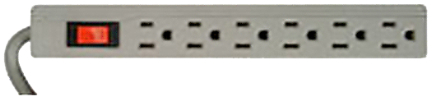 041351-78-01 Surge Protector 6 Outlet 1 1/2