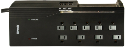 41618 Surge 8 Outlet Protector