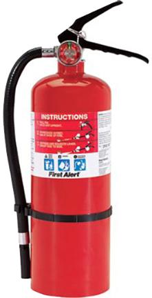 HOME2(FE2A10GR) FIRE EXTINGUISHER 5 LB COMPLI