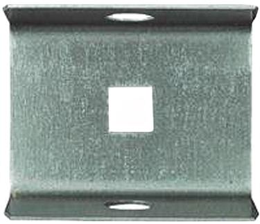 104307 Cap Galv Box  Rail End