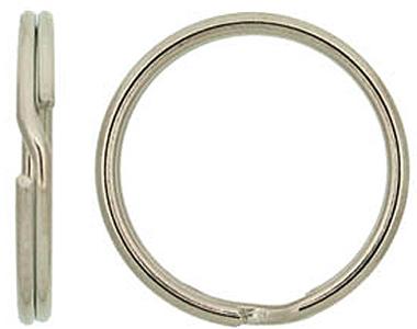 261-00-8x 5/8 Split Key Ring 100/box