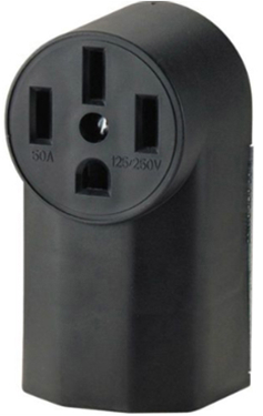 1212 RECEPTACLE 50A SURFACE